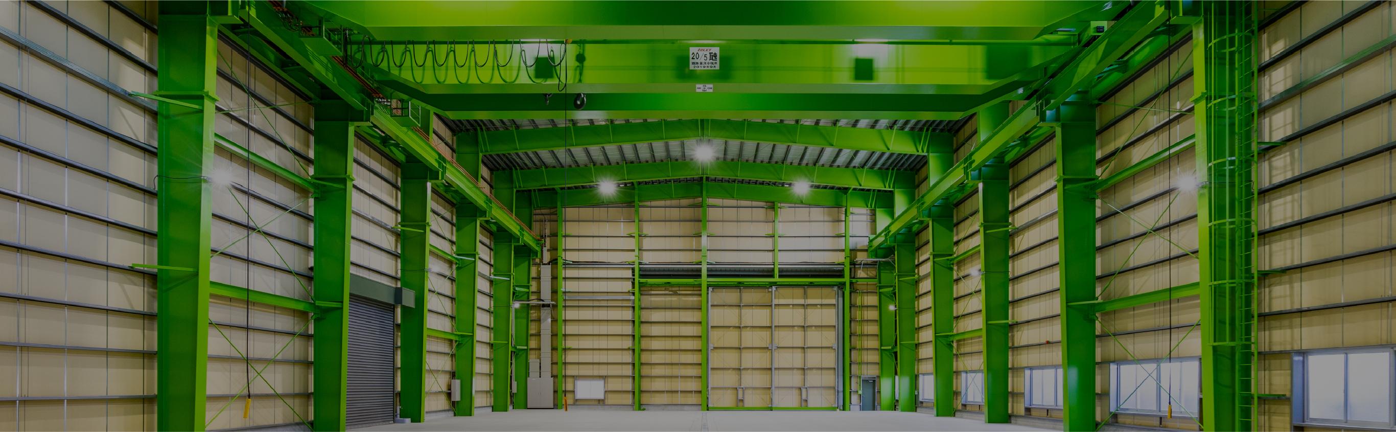 倉庫の内観